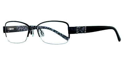 2019 eyeglass frames with blue leopard print