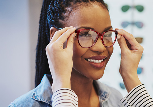 Discount eye exams near Chicago