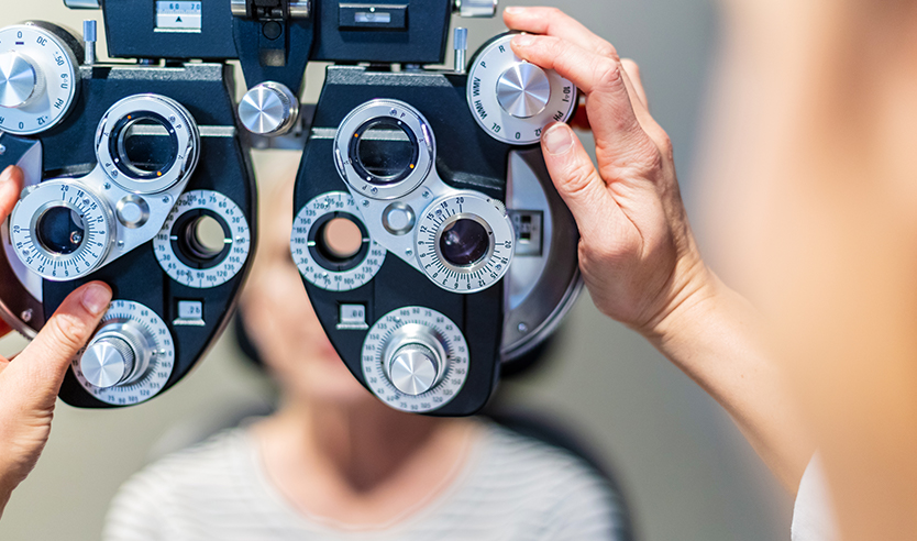 BlueCross BlueShield vision coverage for eye exams, eyeglasses and contact lenses