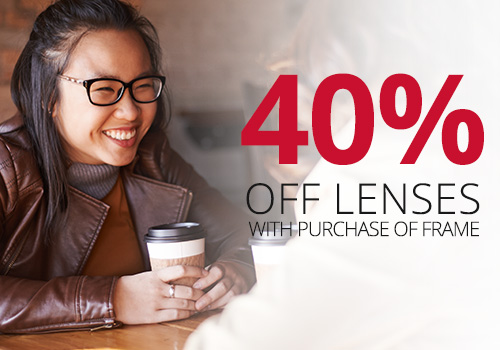 Discount on optical lenses near Chicago