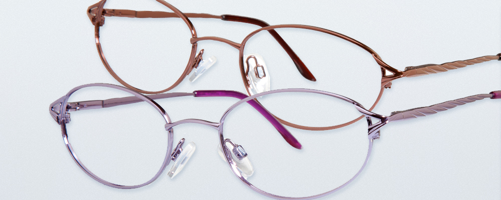 Two pairs of Modern Metals eyewear