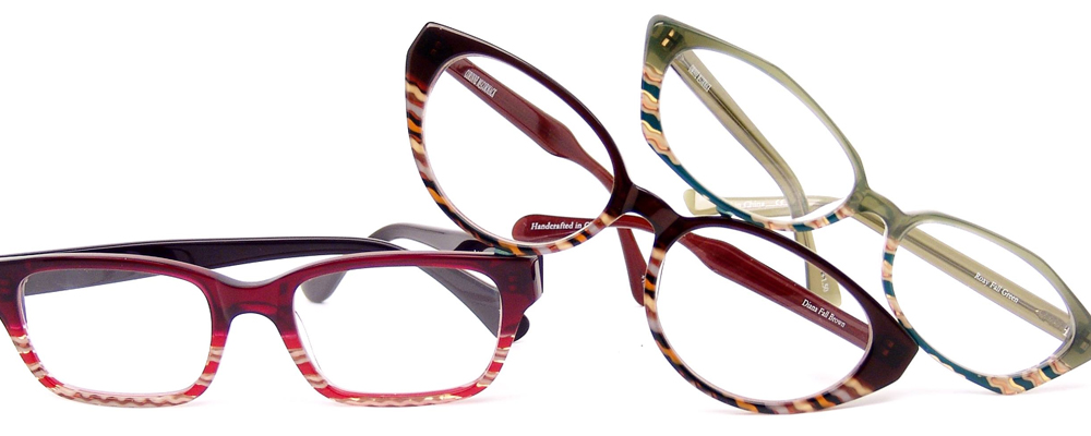 3 pairs of Corinne McCormack glasses