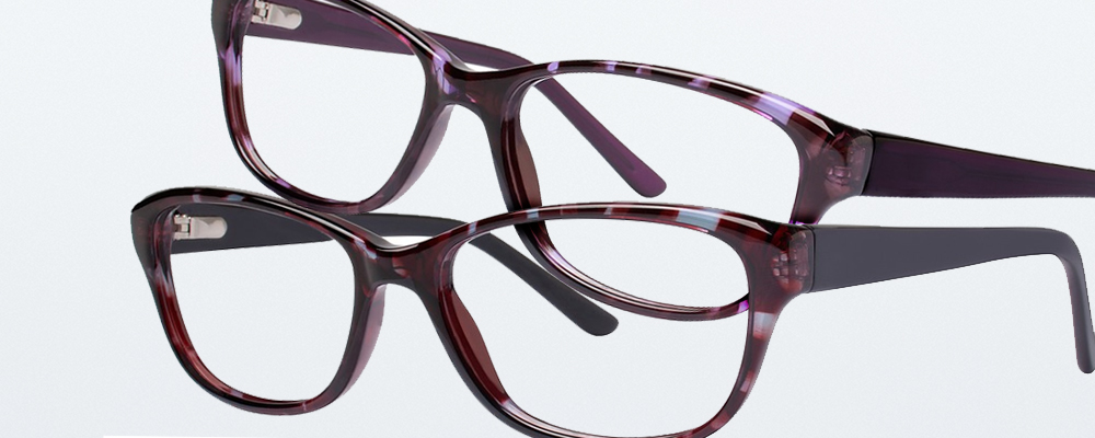 Two pairs of Genevieve Paris Design glasses