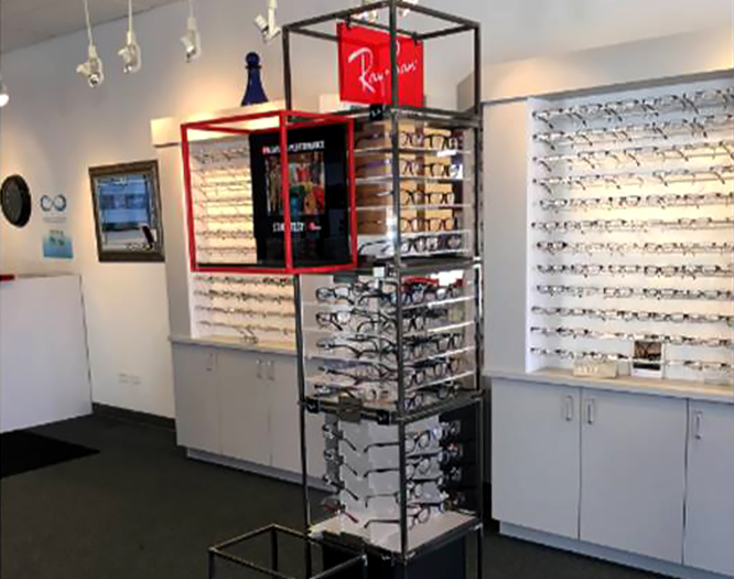 Prescription eyeglasses for sale in Geneva IL vision care center