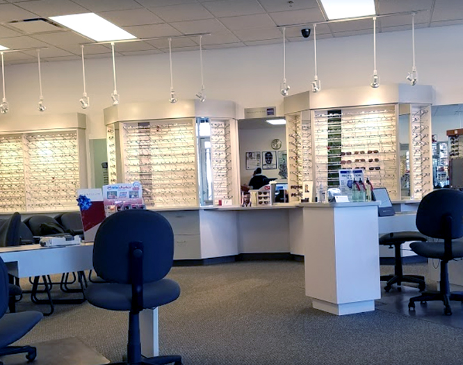 Interior view of Schaumburg Illinois eye care center