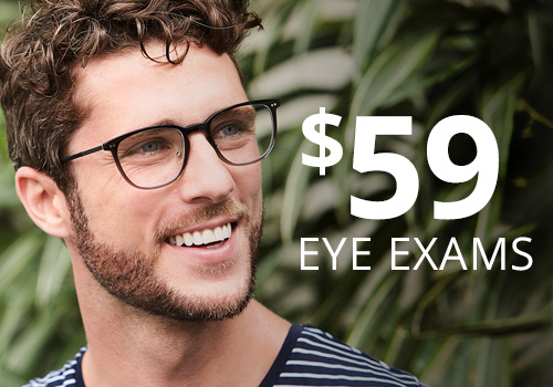 Discount eye exams cost $59 at Eye Boutique near Chicago