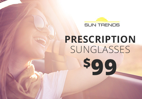 Promotional pricing on prescription sunglasses near Chicago