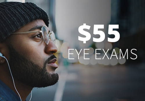 Discount price on eye exams near Chicago