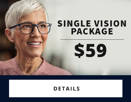 Discount pricing on single vision glasses near Chicago