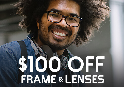 Promotional pricing on designer glasses near Chicago