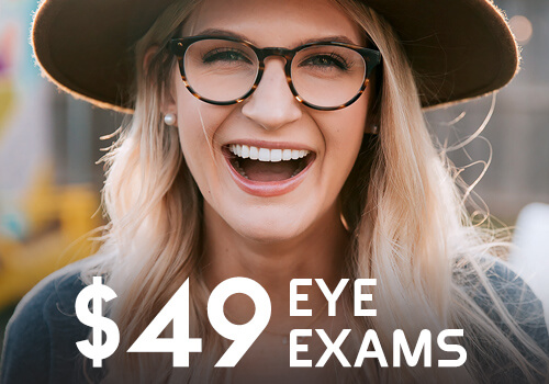 Promotional pricing on eye exams near Chicago