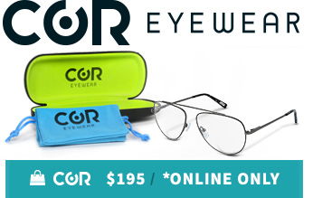COR Eye Boutique Eyewear Online Only Discount Hover