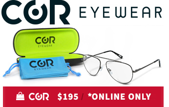 COR Eye Boutique Eyewear Online Only Discount